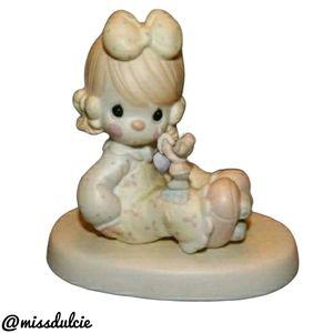 Vintage Precious Moments Porcelain Friendship Gift